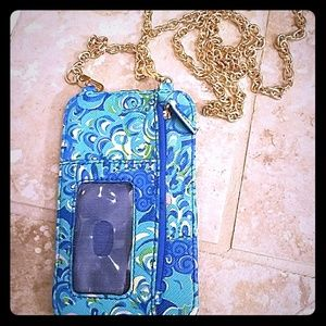 Lilly Pulitzer Call or ID Cross Body